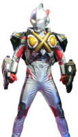 Ultraman X Zetton Armor Render