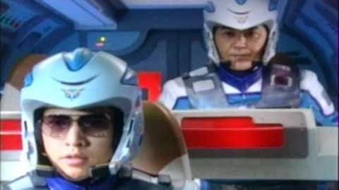 Ultraman Cosmos Episode 1 English Version part 2 3