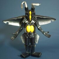 Powered Zetton toys