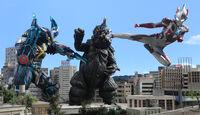 X & Cyber Gomora vs Gomess (S)