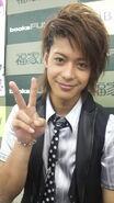 Shunji smiles