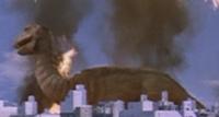 Tongazaurus Destroyed City