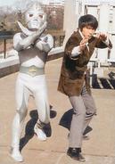 Mirrorman and Kagami
