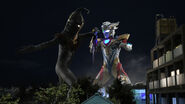 Kemur Man vs Ultraman Z