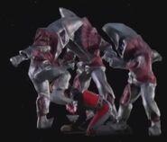 Alien Regulan beats up Asuka2
