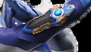 Knight Brace di tangan Hikari