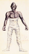 Mummy concept art