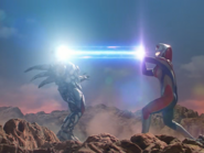 Dyna fires Solgent Ray to Zelganoid the second time