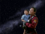 Shin Asuka & his father