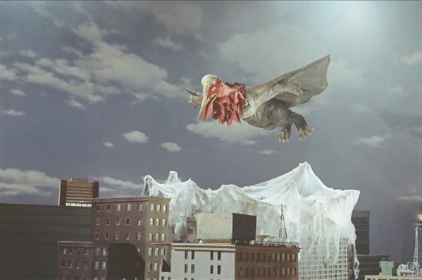 Monster Bird Terochilus - Tokyo's Big Aerial Bombing