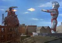 Ultraman Ace - Ace uses the Diamond Beam