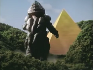 Pyramid before destroyed by Golza