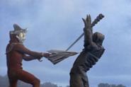 Ultraman Toh LeoBrella stab