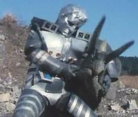Cyborg B1 vs Triceratops