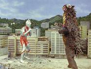 Ultraman vs Gango
