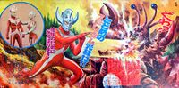 Ganza-vs-Tagarl-Ultraman-Taro-April-2020-02