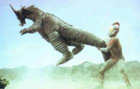 Gomora II v Ultraman 80
