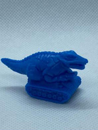 Dinosaur Tank eraser