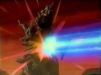 Neo Darambia struck with Solgent beam