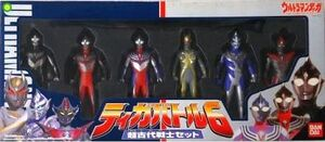 Tiga Battle 6 Set