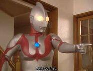 Ultraman scolding