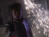 Daigo prepared for his battle as Tiga