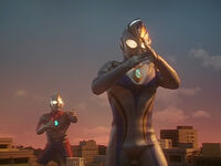 Imitation Ultraman Dyna vs. Ultraman Dyna2
