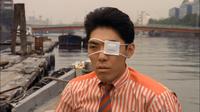 Katsuto with his left eye injured