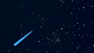 Doofy shooting star efect