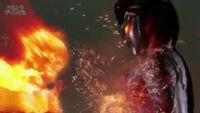 Glenfire(with full power) vs Zero Darkness(Belial)