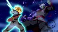 Trunks kill Zamasu Shining Finger Sword style!!-1