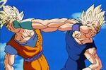 Goku vs vegeta 1