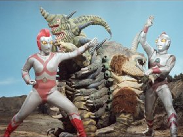 80's Greatest Peril! Transform! Lady Ultraman