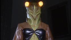 Cicada Woman in Ultra Q: Dark Fantasy