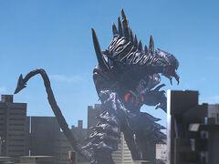 Dinozaur in Ultraman Mebius