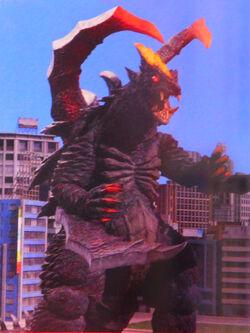 Tsurugi Demaaga in Ultraman X