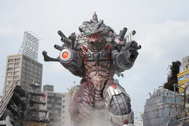 Darebolic in Ultraman Orb the Movie