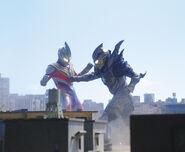 Ultraman Trigger vs. Trigger Dark