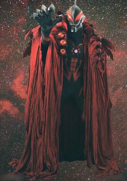 Ultraman Belial in his Kaiser form