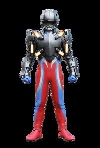 Ultraman Zero in his Techtor Gear