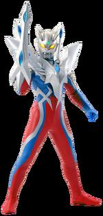 Ultraman Zero in his Ultimate Zero armor