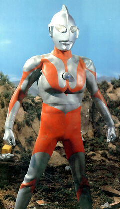 Ultraman's first C Type suit