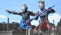 Ultraman Z Alpha Edge & Geed Galaxy Rising