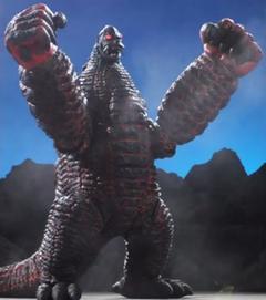 EX Red King in Ultra Galaxy Mega Monster Battle: Never Ending Odyssey
