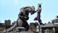 Ultraman Trigger vs. Deathdrago