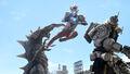 Ultraman Z & King Joe STORAGE Custom vs. Kelbim