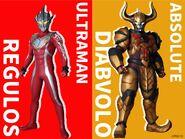 Ultraman Regulos & Absolute Diavolo