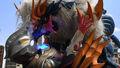Ultraman Z Gama Future vs. Horoboros
