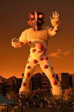 "Alien Nackle ""Odyssa"" in Ultraman Taiga"