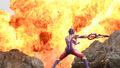 Ultraman Trigger Explosion